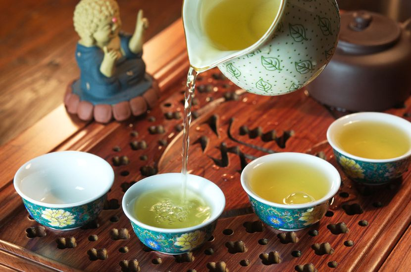 Е шэн люй ча (дикий зеленый чай) - teaterra | teaterra