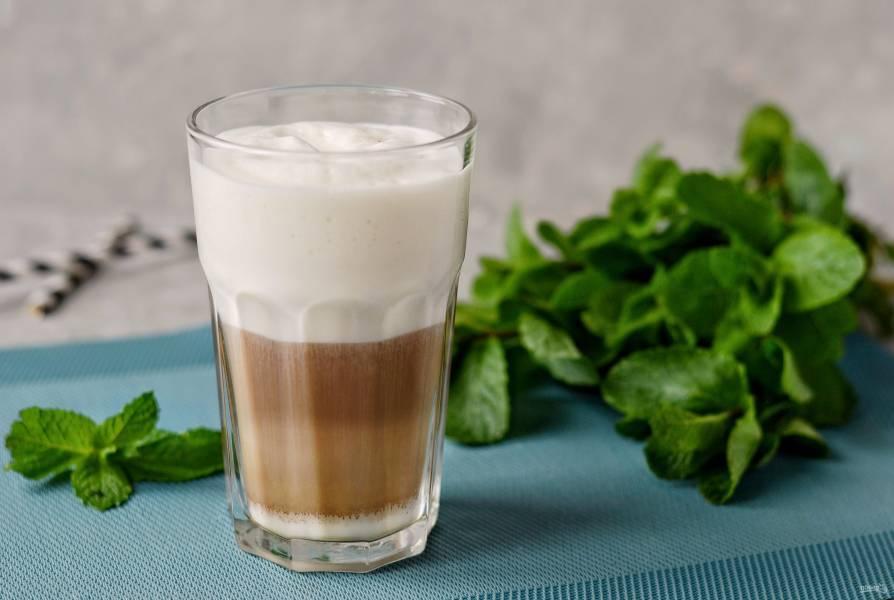 Мятный кофе — подарит ощущение бодрости