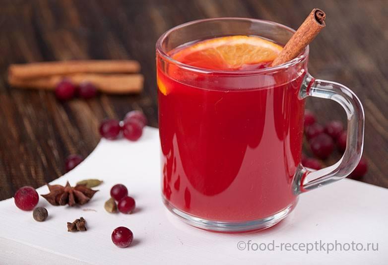 Чай с клюквой:полезные свойства и рецепты
