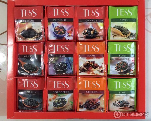 """Чай """"tess"""" – богатый ассортимент насыщенных вкусов"""