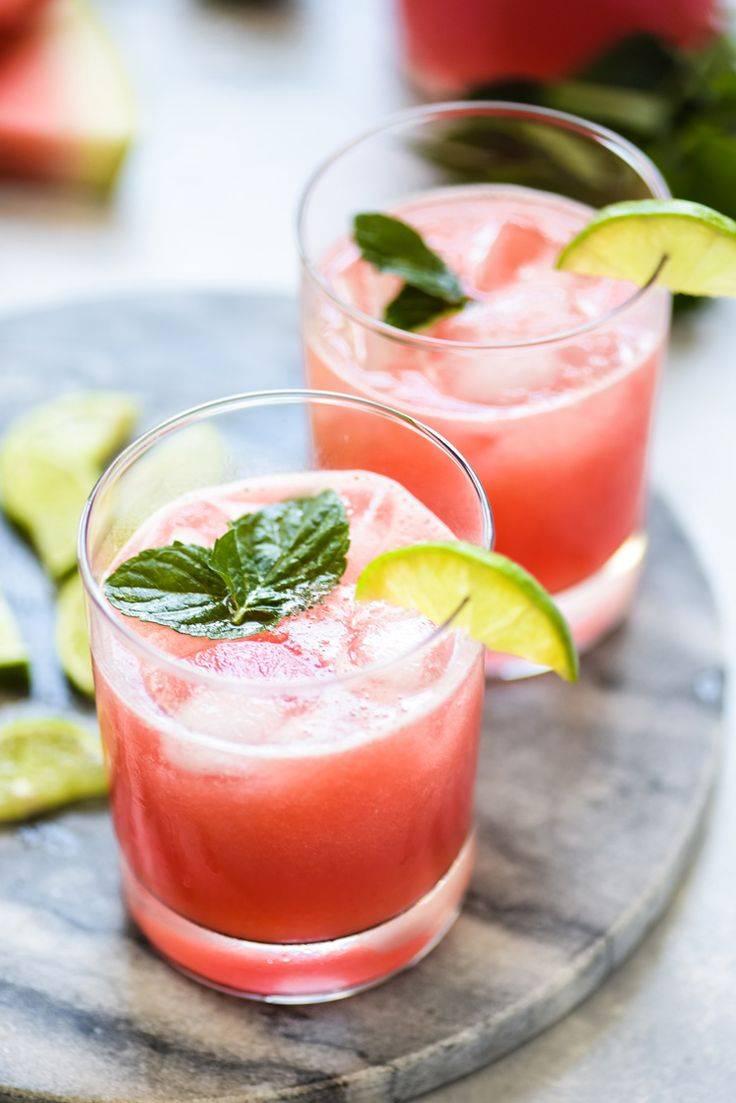 Смузи из арбуза - лучшие рецепты