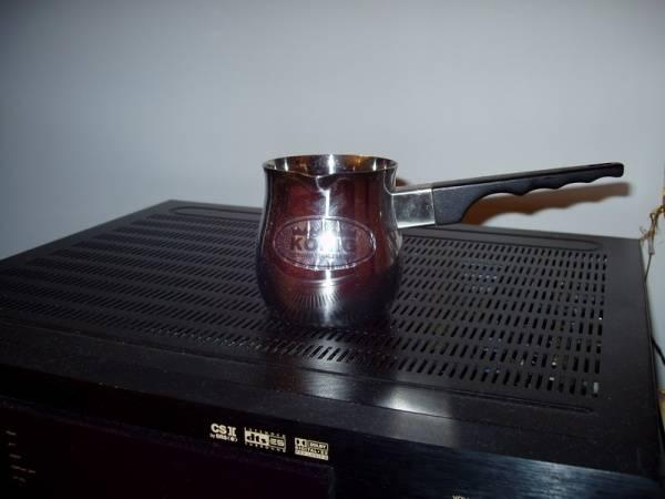 Турка для стеклокерамической плиты   турка для кофе