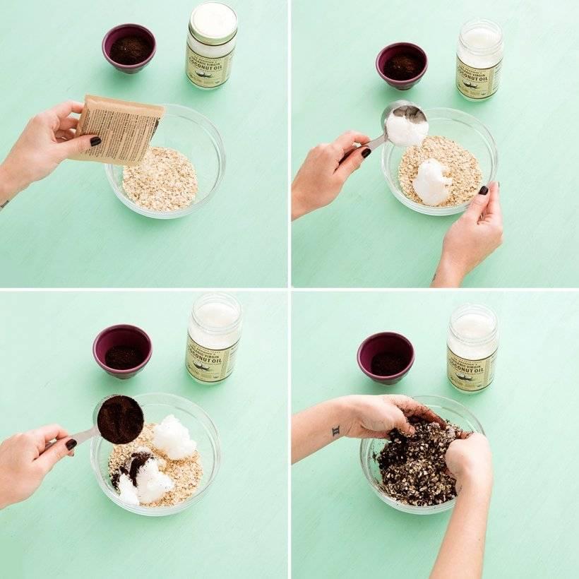 Кофейный скраб – простое и эффективное средство от целлюлита
