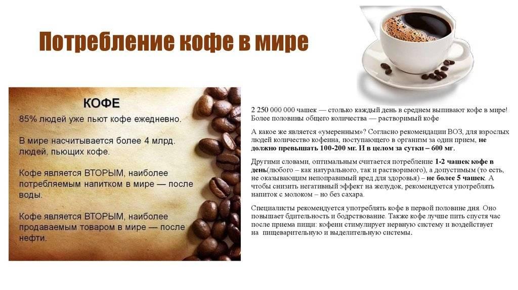 Кофе – польза и вред для детей