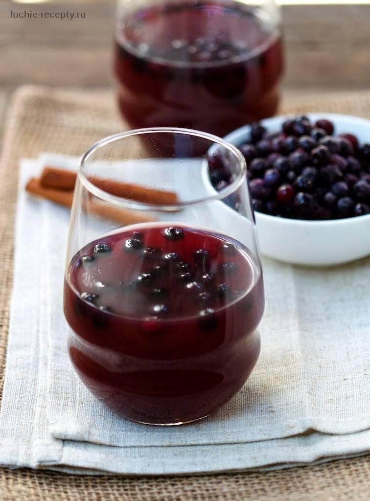 Кисель из замороженных ягод черники рецепт с фото - 1000.menu