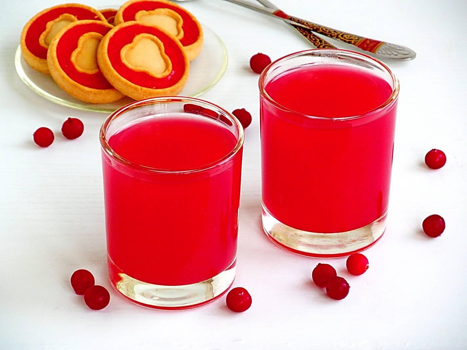 Клюквенный кисель: рецепт. кисель из свежей и замороженной клюквы
