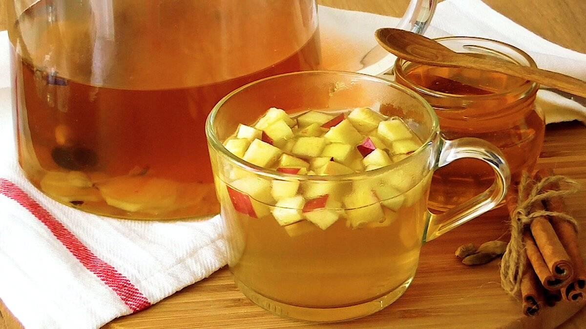 Чай с яблоками польза и вред
