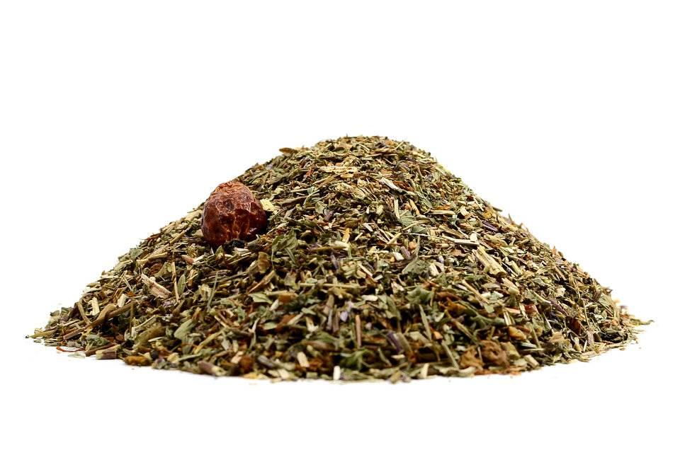 Витаминный чай из трав для поднятия иммунитета