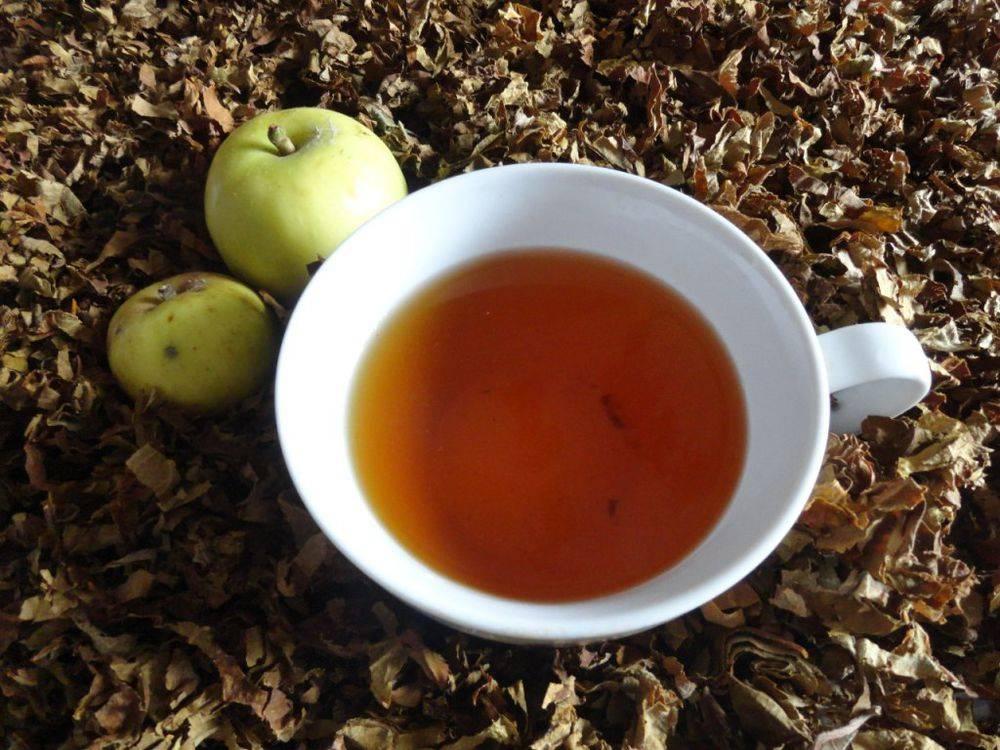 Ферментированный чай из листьев вишни: особенности приготовления