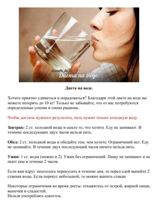 Можно ли пить после еды?