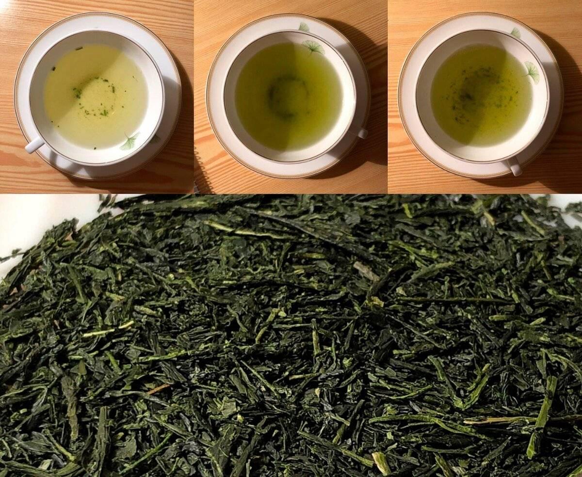 Японский зеленый чай сенча (сентя)