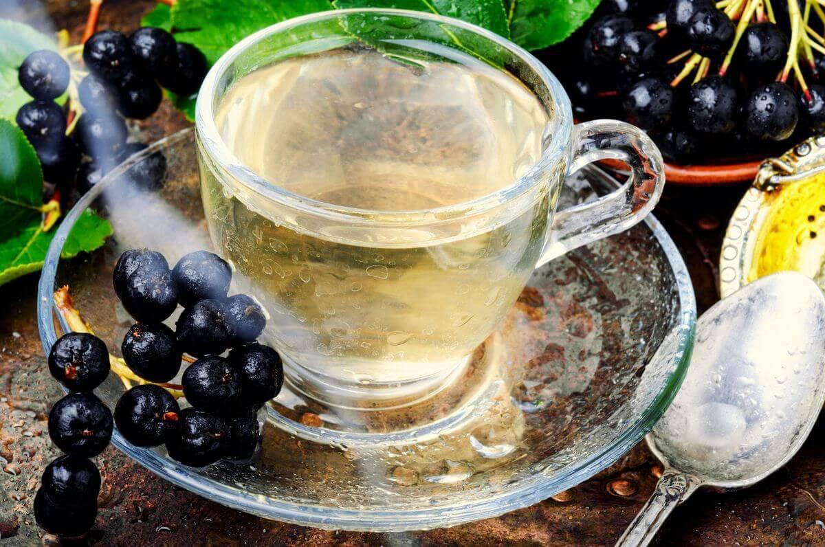 Чай с рябиной: польза и рецепты