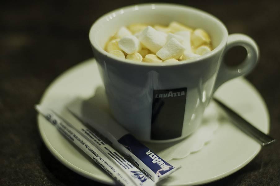 Кофе с маршмеллоу: рецепты приготовления кофе американо и капучино с зефирками в домашних условиях