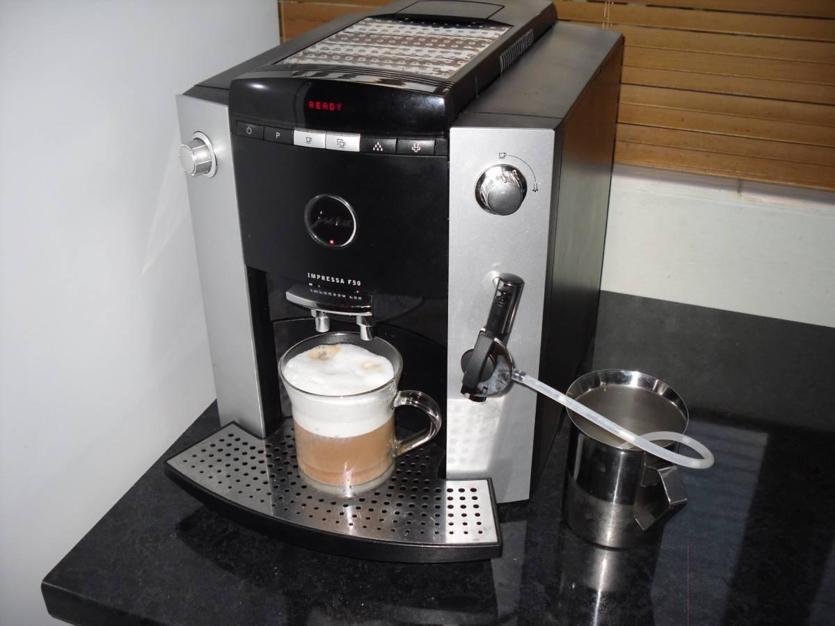 Преимущества и недостатки кофемашины Jura Impressa F 50