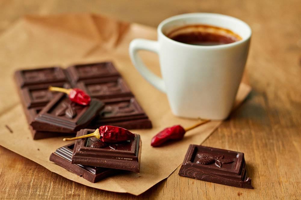 Кофе с шоколадом — идеальное сочетание вкусов