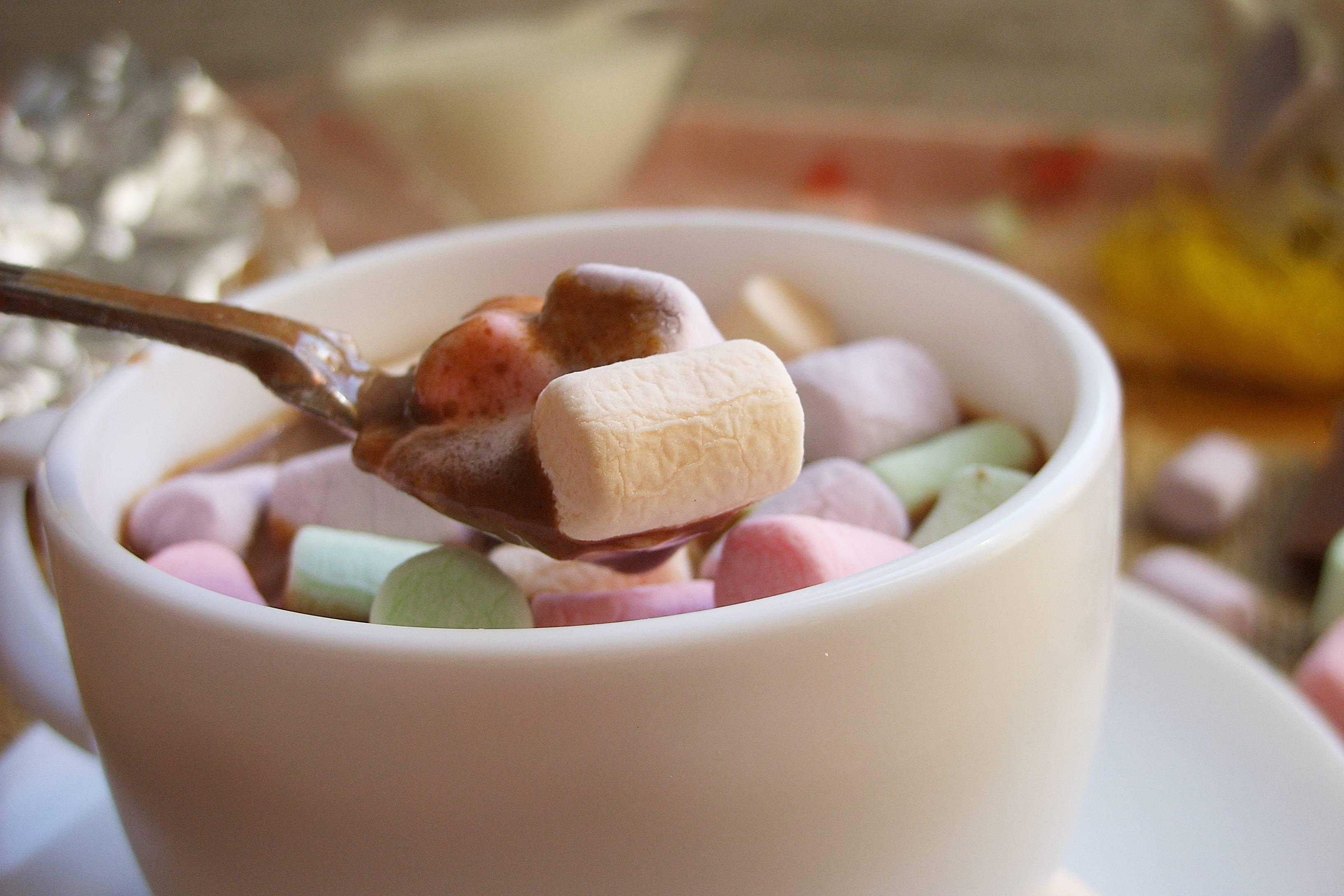Какао с маршмеллоу (зефирками) – рецепт