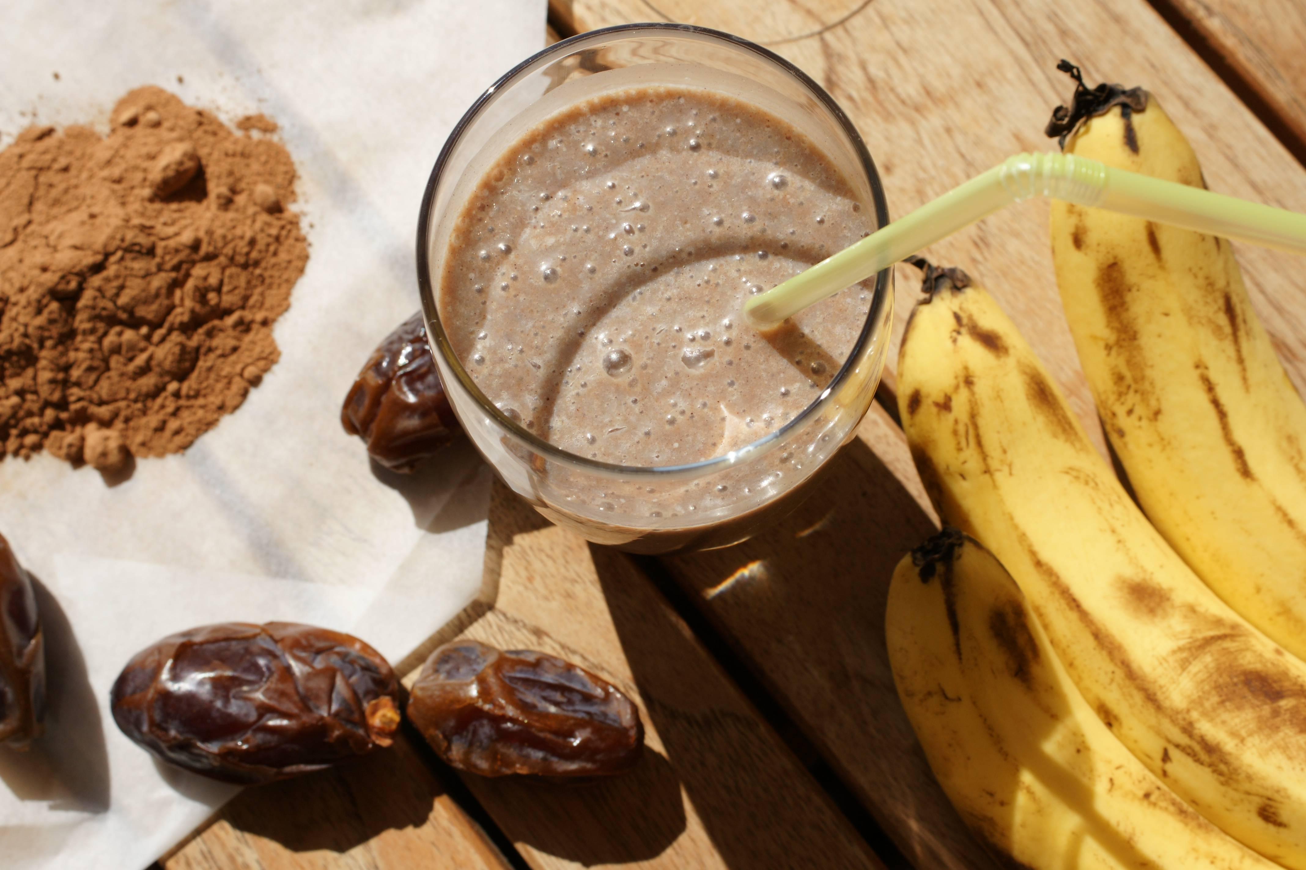 Какао с бананом – рецепт и особенности приготовления   великий чайный путь