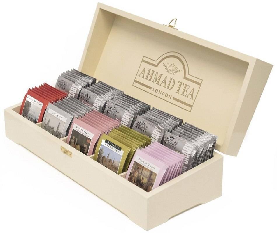 Разновидности наборов чая