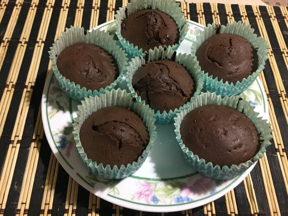 Классические шоколадные маффины