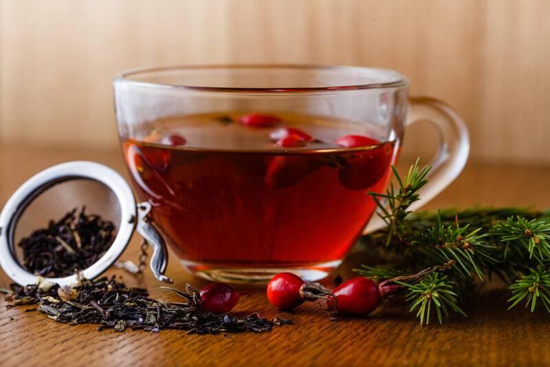 Способы заваривания чая из шиповника – простые рецепты