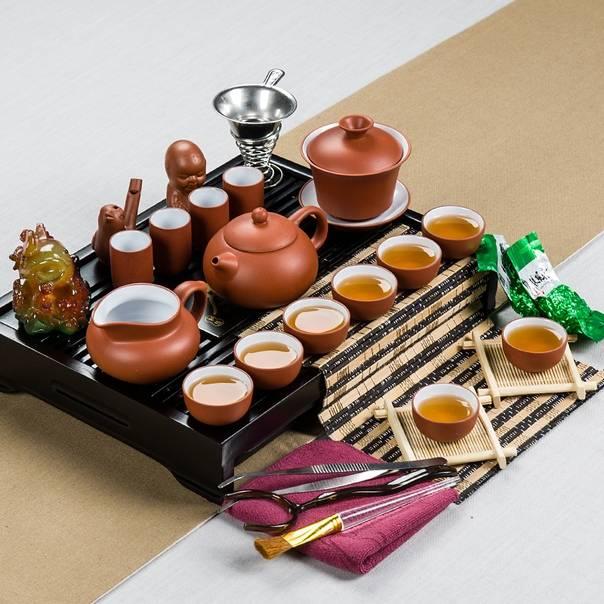 Культура потребления чая у разного народа