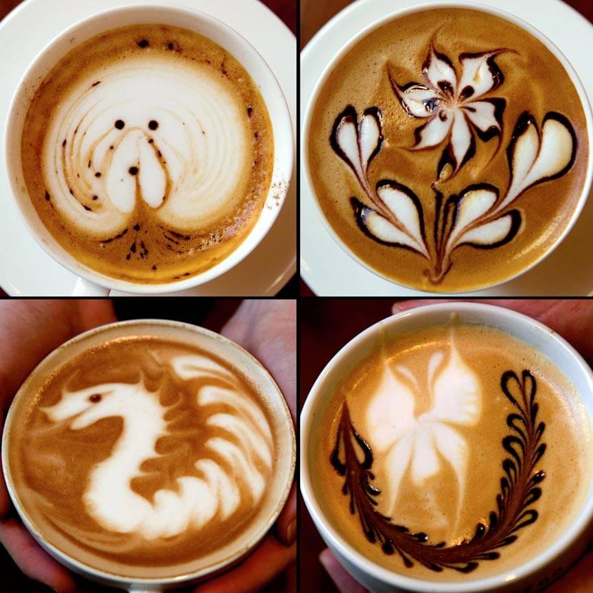 Как рисовать на кофе? латте-арт - видео мастер-класс