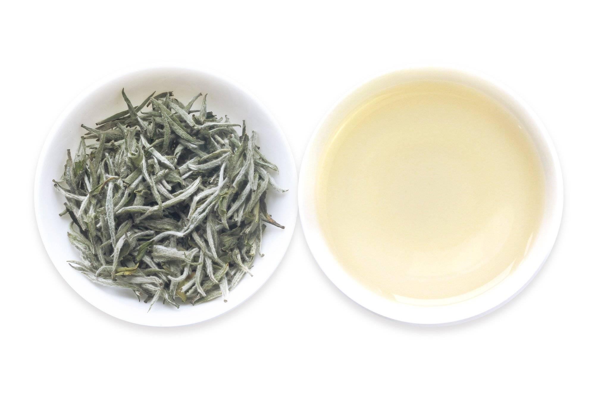 Чай серебряные иглы, или бай хао инь чжень