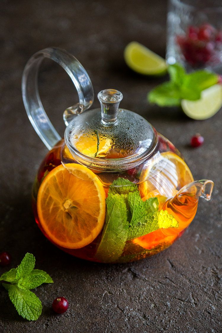 Ароматный фруктовый чай