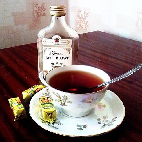 Как пить чай с коньяком. польза и вред для здоровья