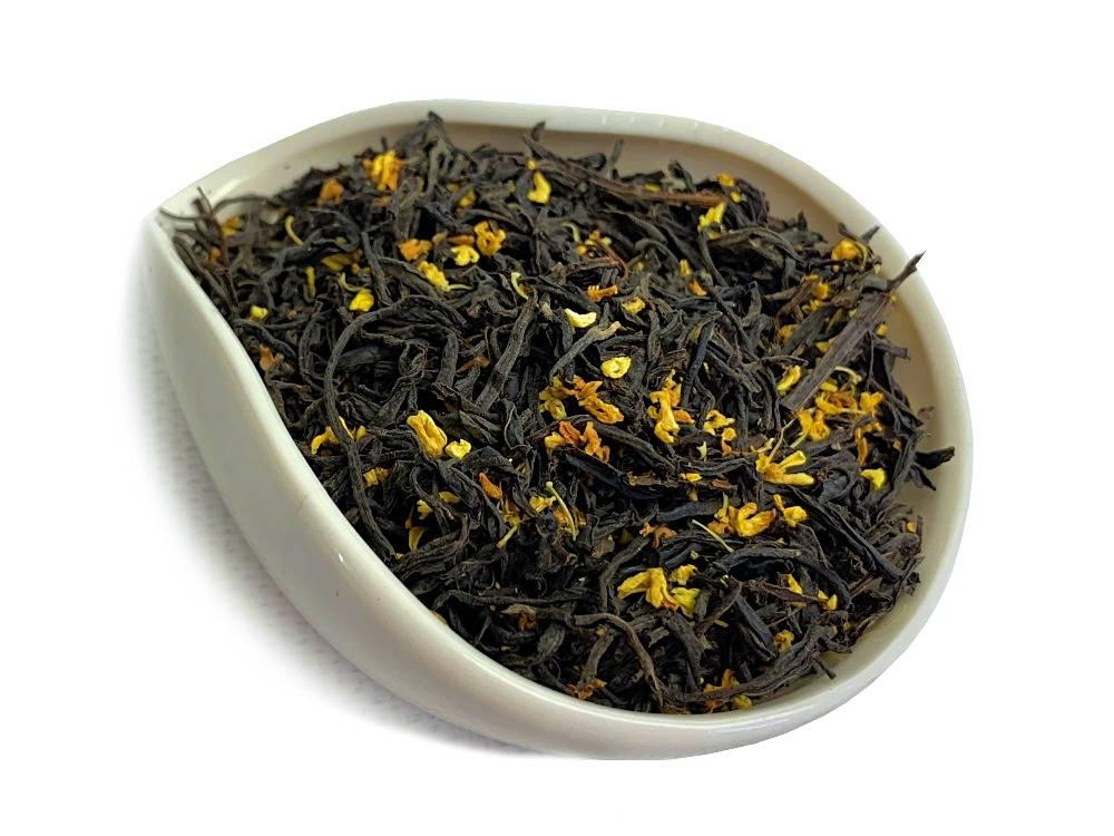 Свойства и описание душистого чая с османтусом