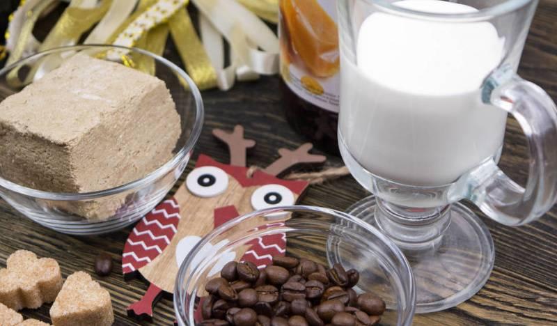 Рецепты кофе с халвой
