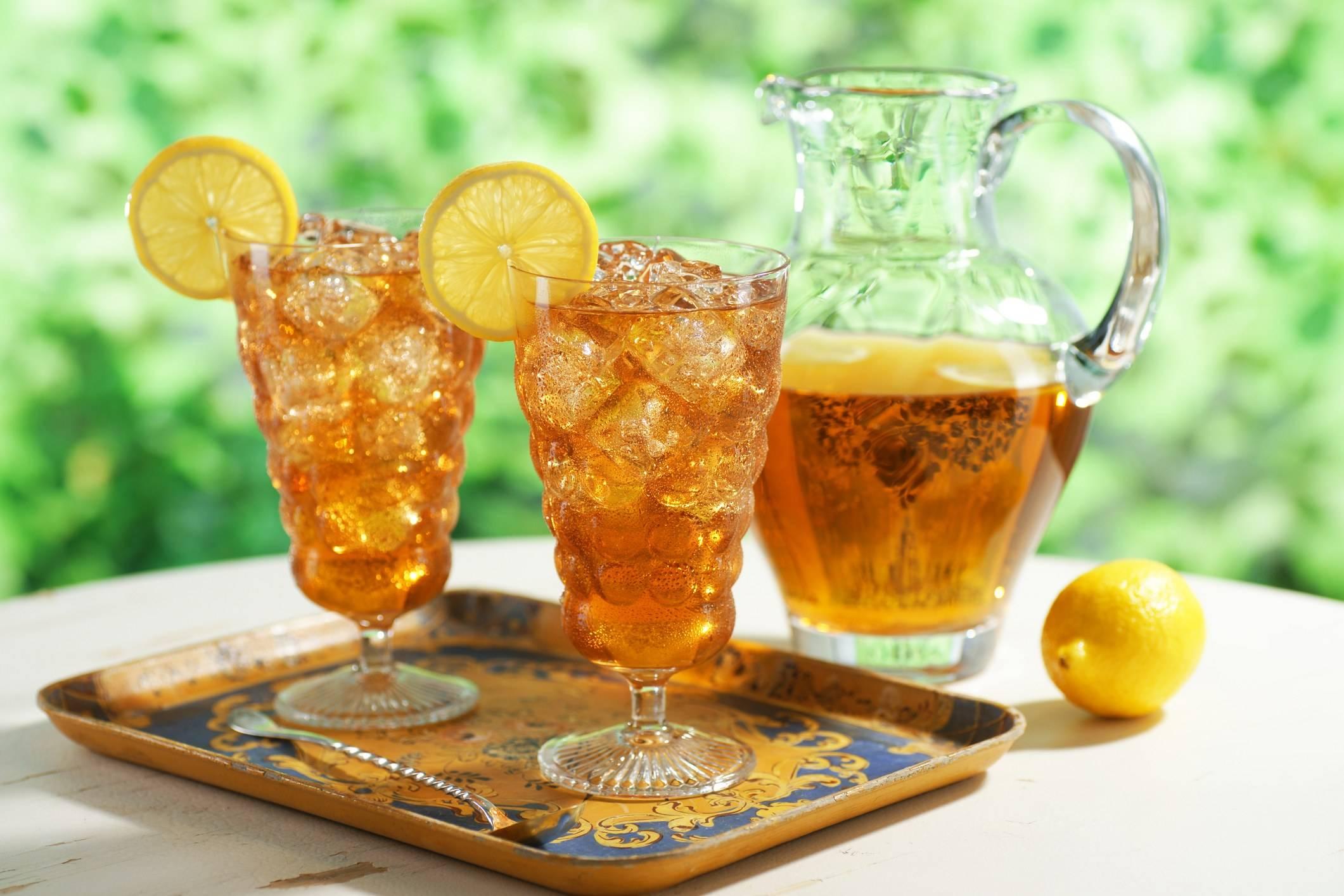 Холодный чай: рецепты, как сделать в домашних условиях с мятой и лимоном