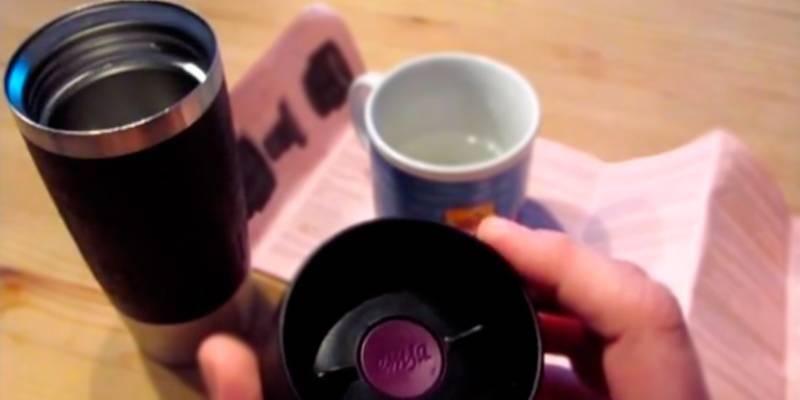 Как быстро отмыть термос из нержавейки внутри от чая
