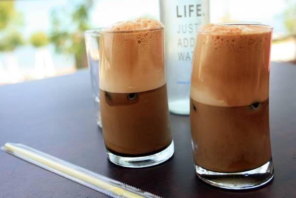 Что такое кофе фраппе, рецепты, состав