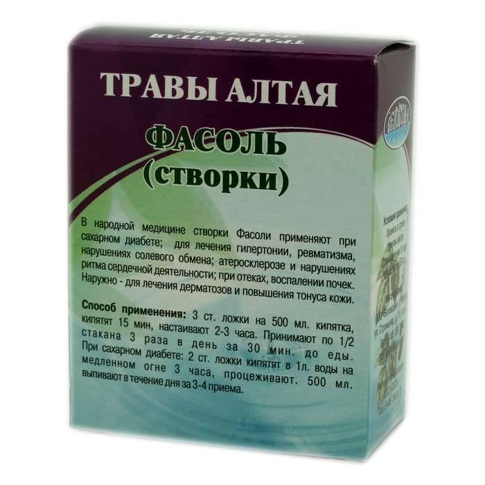 Лечебные свойства створок фасоли и их применение в народной медицине