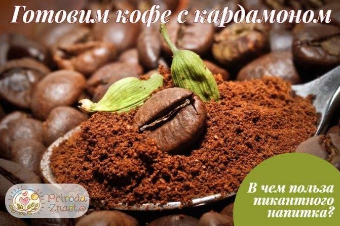 Кофе с кардамоном: рецепт классического кофе и кофе по-восточному
