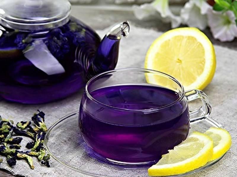 Синий чай для похудения, польза в косметологии