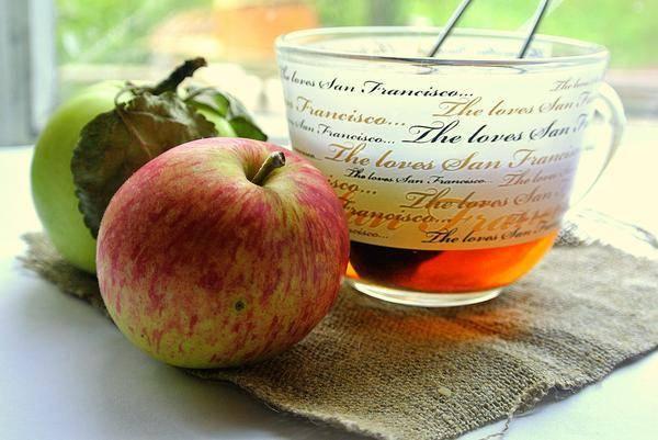 Яблочный чай польза