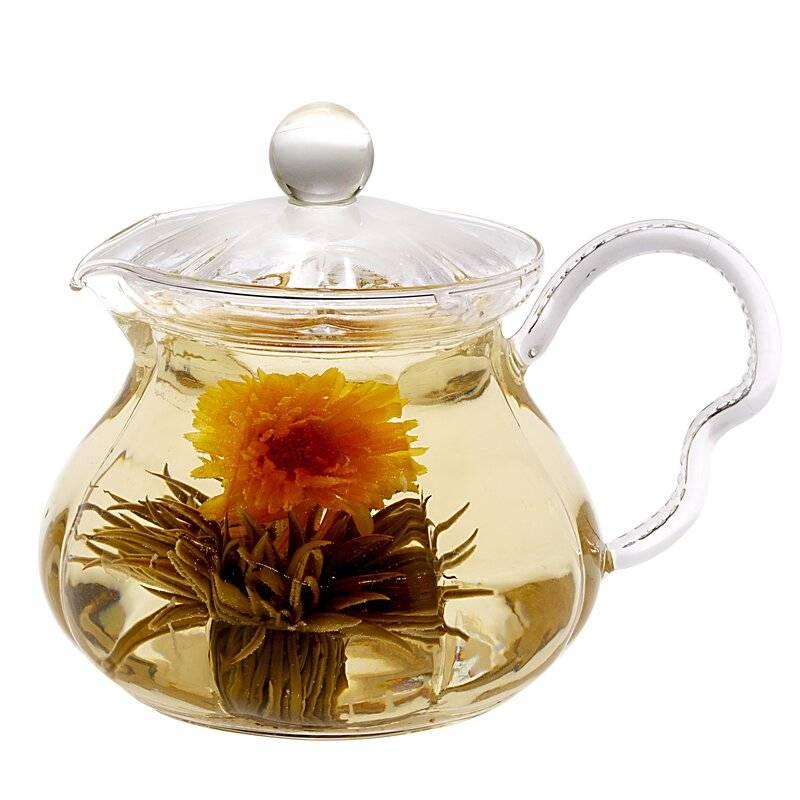 Как заваривать связанный чай, чтобы он распустился, как цветок