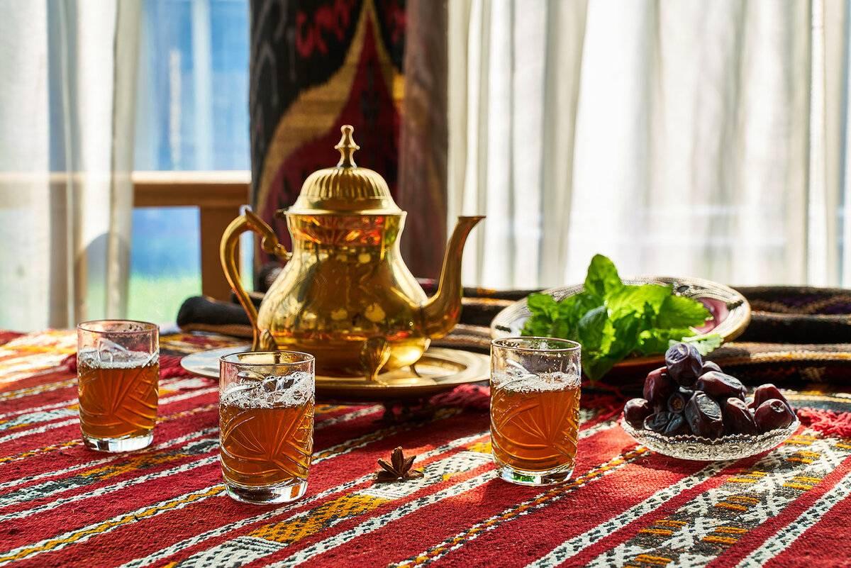 Как приготовить чай по-арабски   великий чайный путь