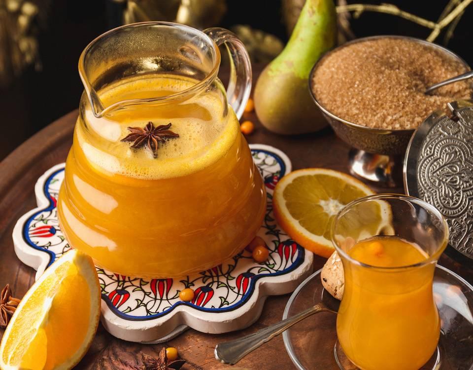 Рецепты кофе с апельсином
