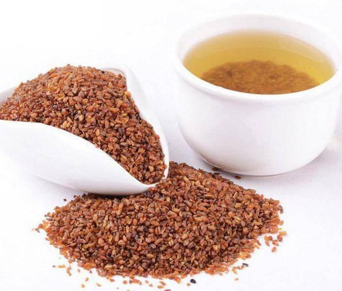 Гречишный (гречневый) чай из семян татарской гречихи