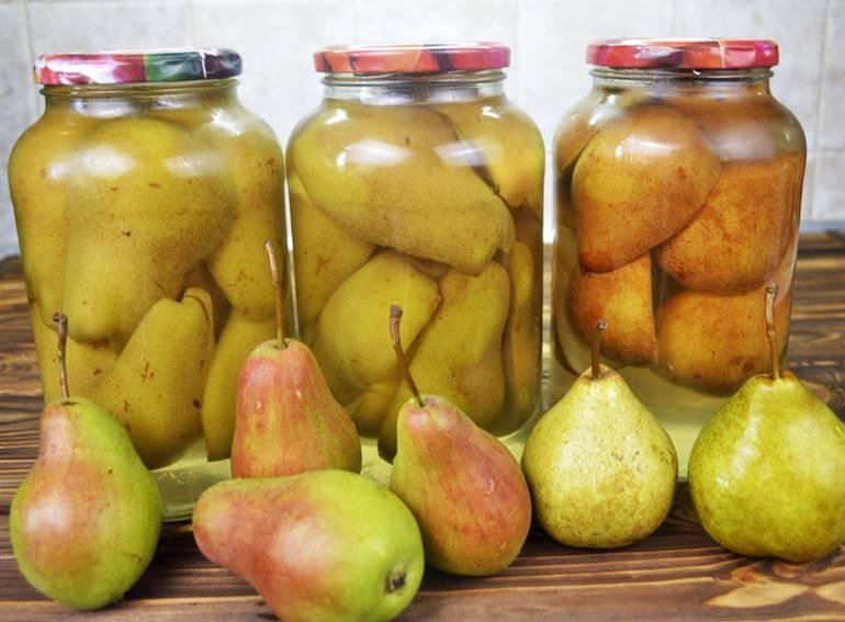 Яблочно-грушевый компот на зиму