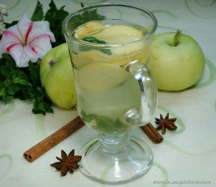 Яблочный чай – основы приготовления