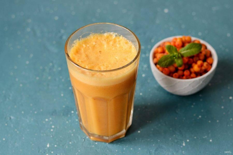 Смузи бананово апельсиновый рецепт с фото пошагово - 1000.menu
