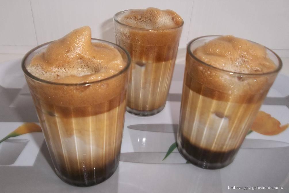 Кофе со льдом – рецепты приготовления фраппе в домашних условиях