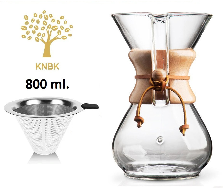 Кемекс (chemex) для кофе - что это такое и как в нем заваривать кофе