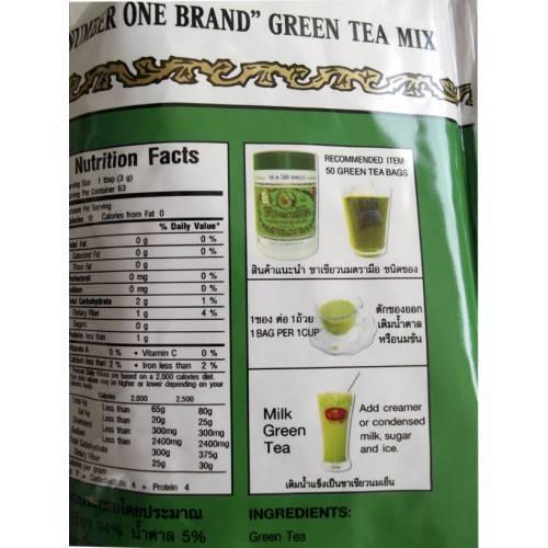 Тайский молочный зеленый чай: как заварить, польза напитка