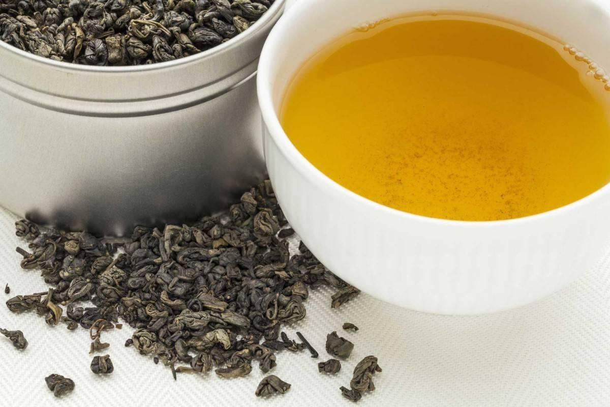 Ганпаудер чай полезные свойства