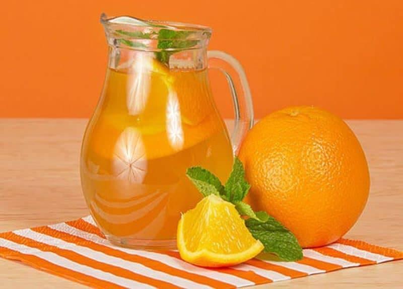 Домашняя «фанта» из апельсинов, лимона и мандаринов